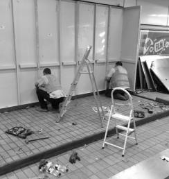 building or dismantling